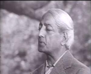 J Krishnamurti in America
