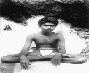 A young Ramana Maharshi