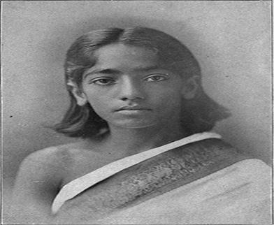 J Krishnamurti at a young age