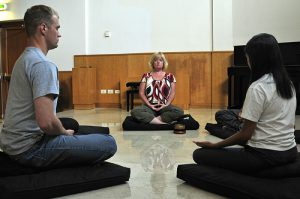 Zazen  Meditation:  Choosing a Position