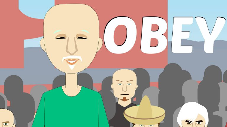 obey me self help robot